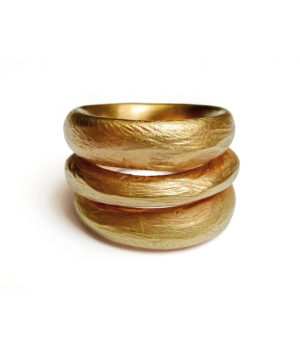 Mike Kircher, Ring «smooth», 13-18 mm breit, Roségold