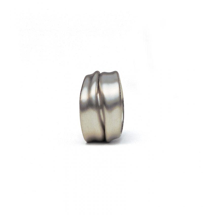Rudi Sand, Ring «Faltenwurf / M42», 950/- Palladium