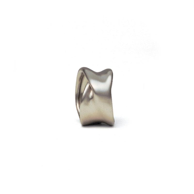 Rudi Sand, Ring «Faltenwurf / M1», 950/- Platin