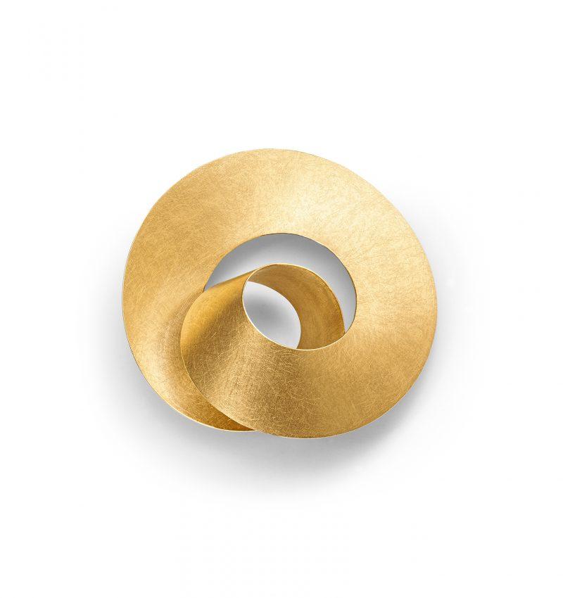 Niessing, Anhänger «Looping», N183010, Gelbgold