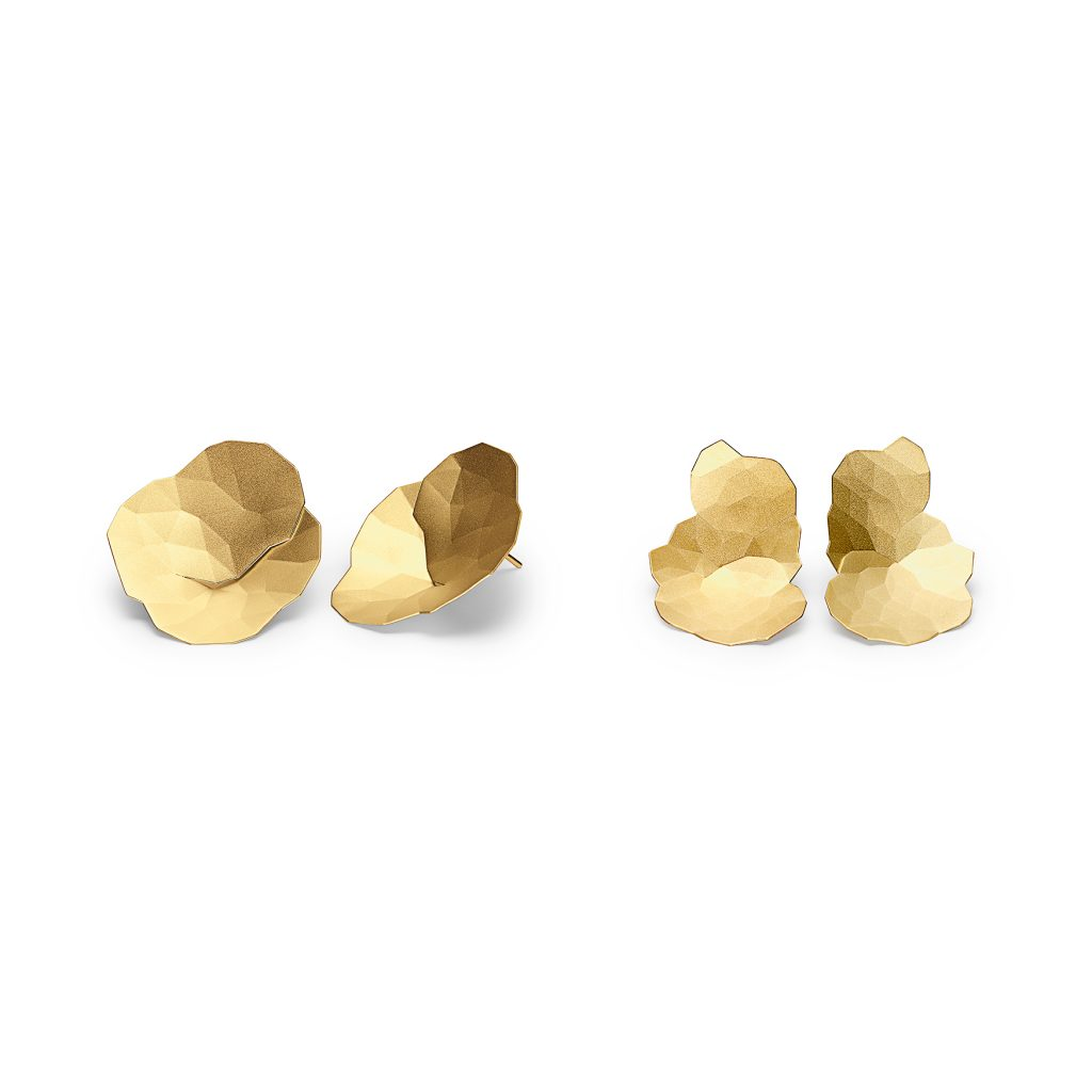 Niessing, Ohrstecker «Topia», Gelbgold, N294056