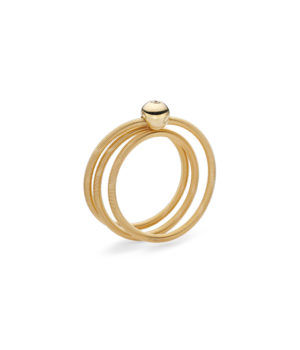 Niessing, Ring Colette, 3-fach, Gelbgold, Brillant, N281521