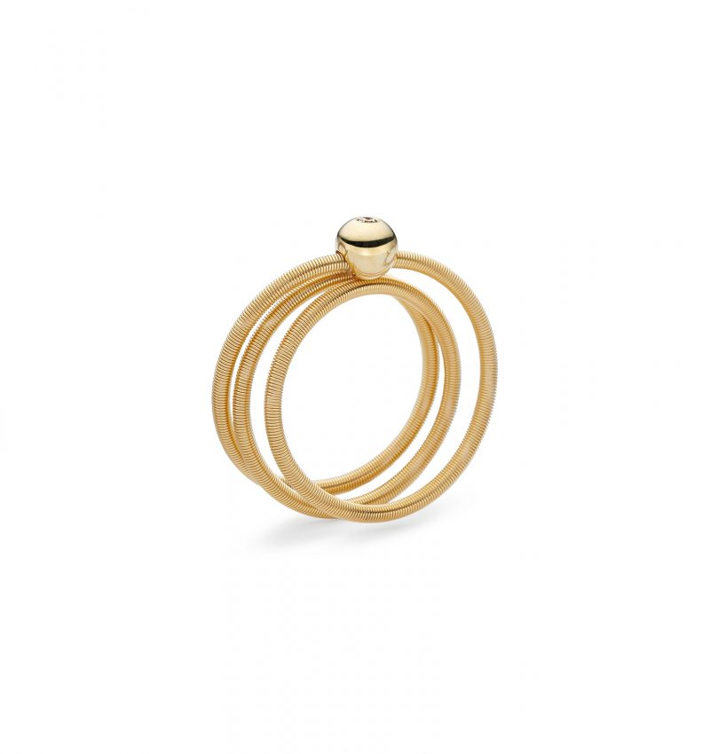 Niessing, Ring Colette, 3-fach, Gelbgold, Brillant, N281523