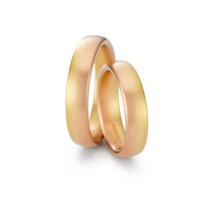 Niessing Trauringe «Solaris Horizontal», 750 Gold, N341522